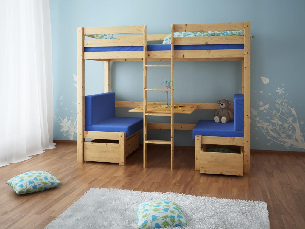 łóżko Piętrowe Elen