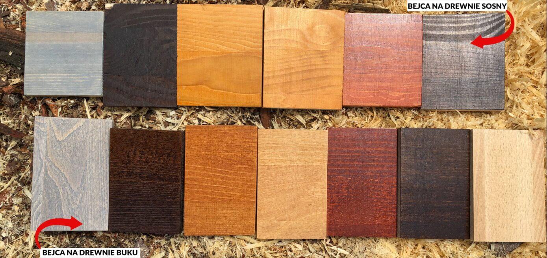 Bejca i technika bejcowania (barwienia) drewna | STARYCH