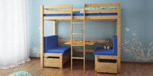 łóżko Piętrowe Jan