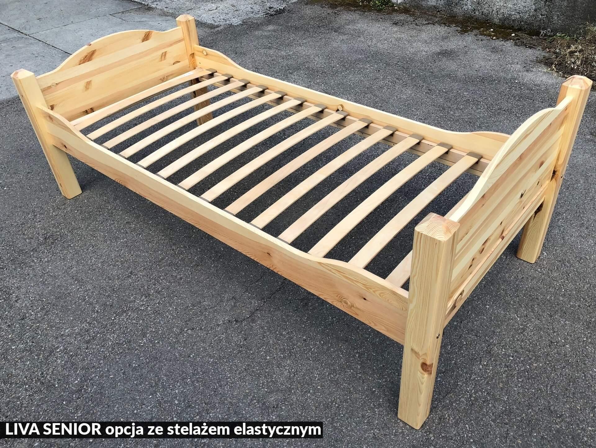 łóżko Sosnowe Liva Senior