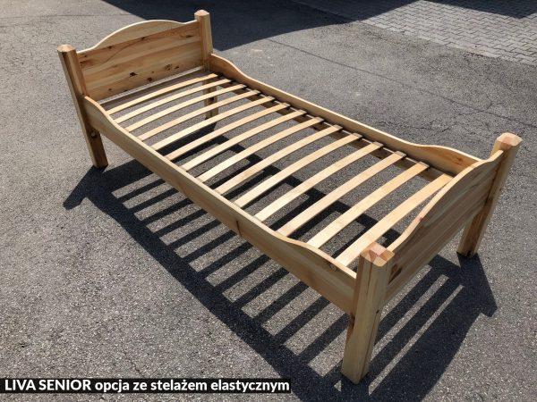 wysokie łóżko dla seniora
