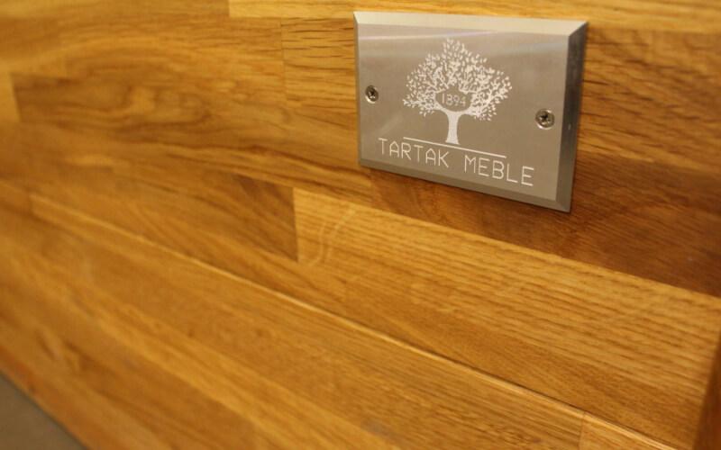 Łóżko z drewna olejowanego
