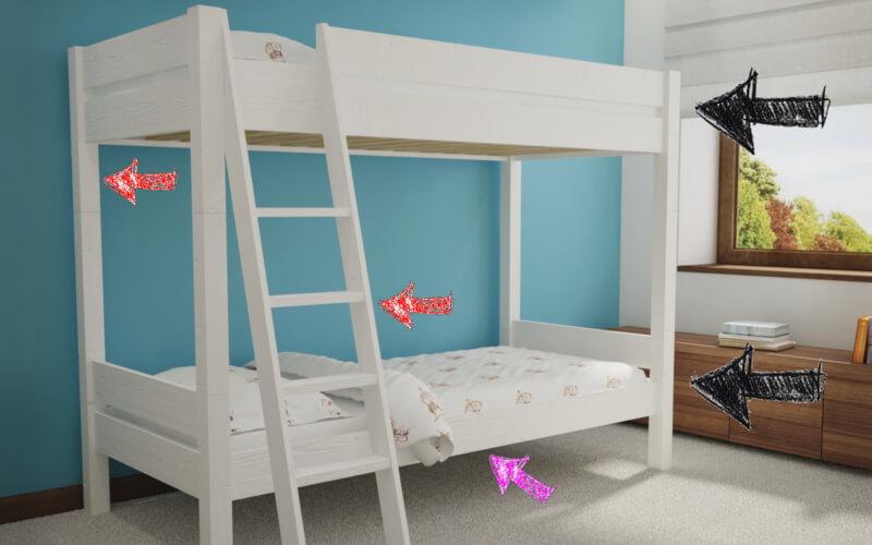 Kiedy łóżko Piętrowe Dla Dziecka Producent Mebli Z Drewna