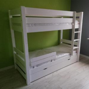 3 osobowe łóżko piętrowe