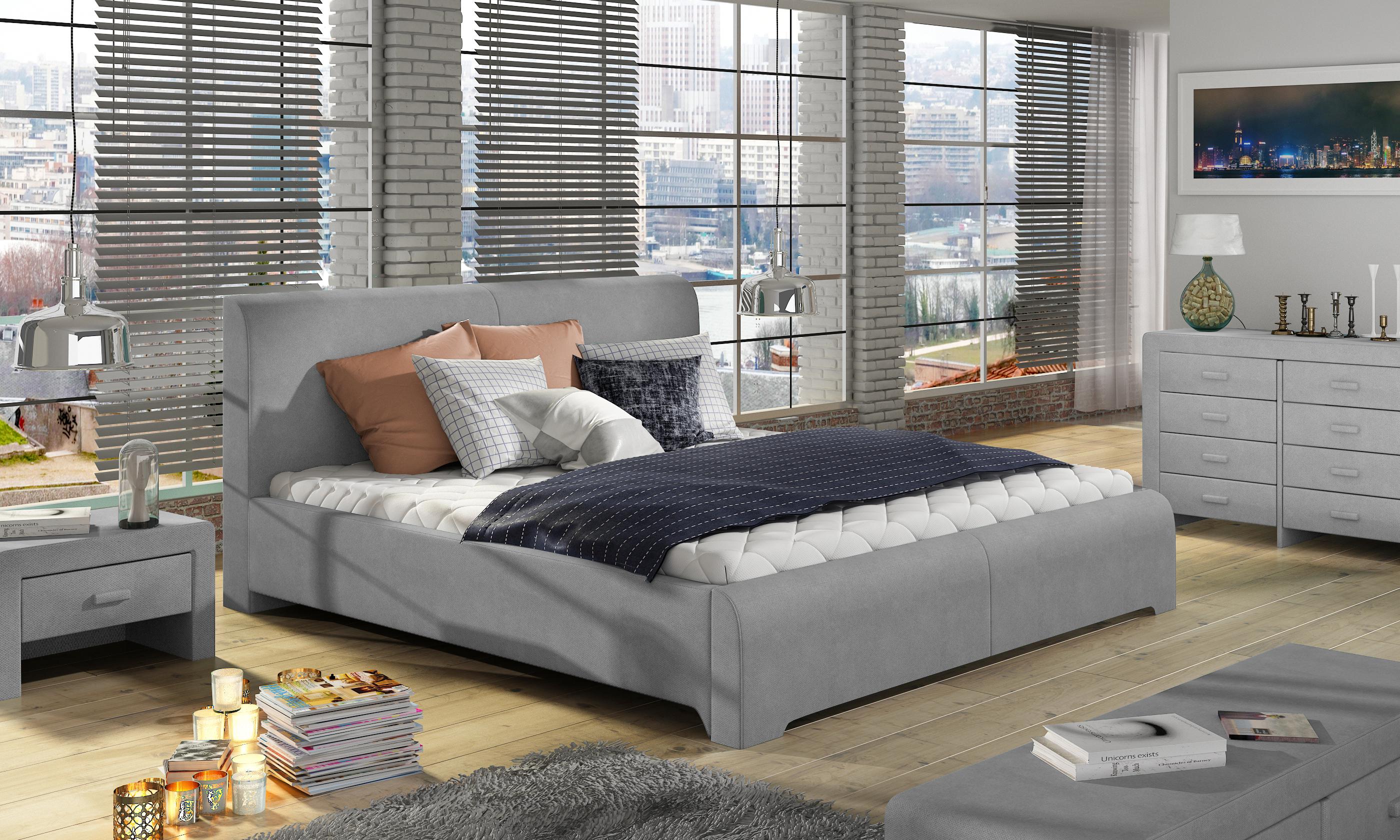 łóżko Tapicerowane W81236