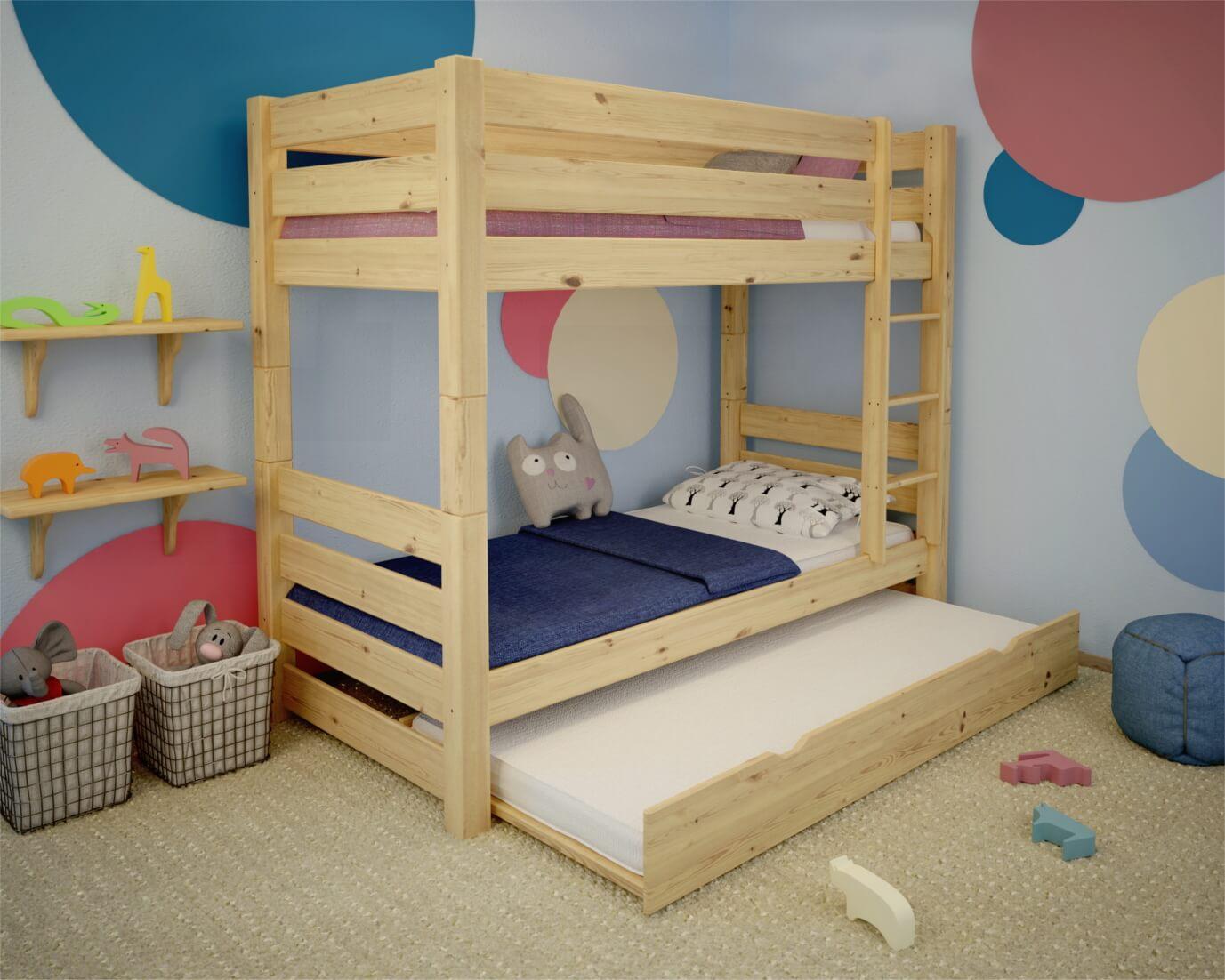 łóżko Piętrowe Jan Plus