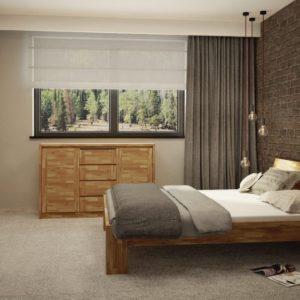 sypialnia dębowa
