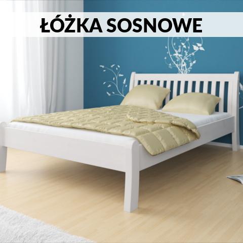 łóżka sosnowe sklep