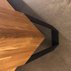 noga łóżko drewno metal