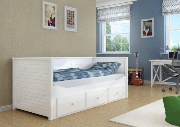 łóżko dla dziewczynki