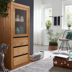 drewniana szafka do salonu