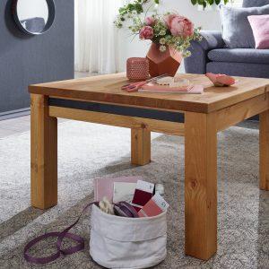 mały drewinany stolik kawowy