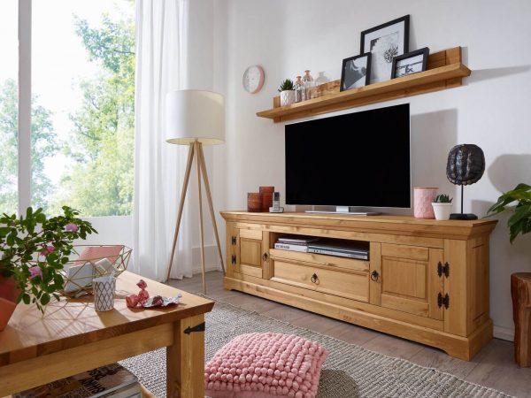 szafka na telewizor drewniana