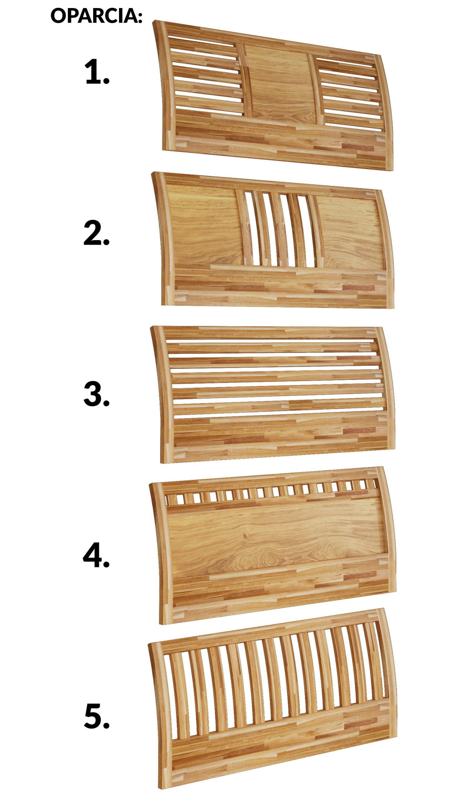 drewniane oparcie łóżka